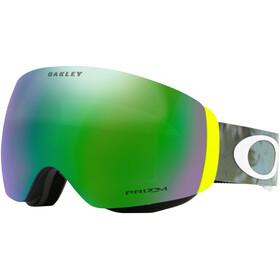 Oakley Flight Deck XM Snow Goggle Flury Retina Balsam/Prizm Snow Jade Iridium